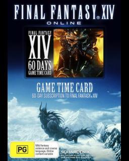 Final Fantasy XIV A Realm Reborn 60 Dní předplacená karta