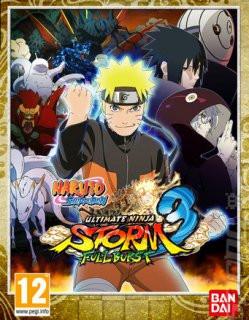 Naruto Shippuden Ultimate Ninja Storm 3 Full Burst - Plná verze - 1 licence