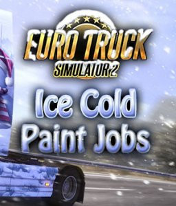 Euro Truck Simulátor 2 - Ice Cold Paint Jobs Pack