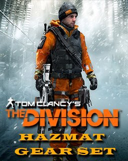 Tom Clancys The Division Hazmat gear set - Plná verze - 1 licence