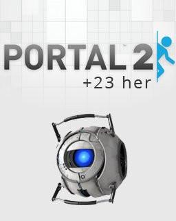 Portal 2 + 23her - Plná verze - 1 licence