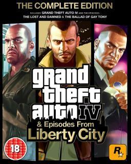 Grand Theft Auto 4 Complete Edition, GTA 4 CE - Plná verze - 1 licence