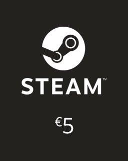 Steam Kredit 5 Euro