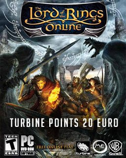 The Lord of the Rings Online: Turbine points 20 Euro