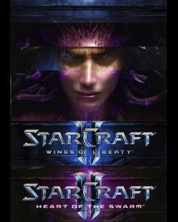 Starcraft 2 WOL + HOTS - Plná verze - 1 licence