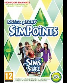 The Sims 3 1000 bodů - Plná verze - 1 licence