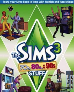The Sims 3 70s, 80s and 90s Stuff - Plná verze - 1 licence