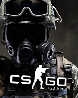 Counter Strike Global Offensive + 23 her - Plná verze - 1 licence