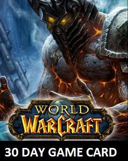World of Warcraft 30 Dní předplacená karta - Plná verze - 1 licence