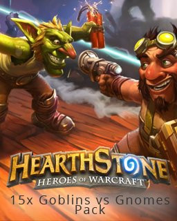 15x Hearthstone Goblins vs Gnomes Pack