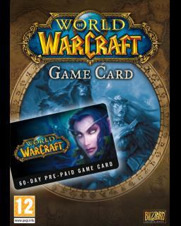 World of Warcraft EU 60 Dní předplacená karta - Plná verze - 1 licence