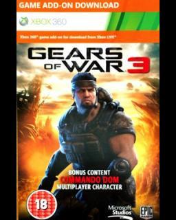 Gears of War 3 - Commando Dom Xbox 360