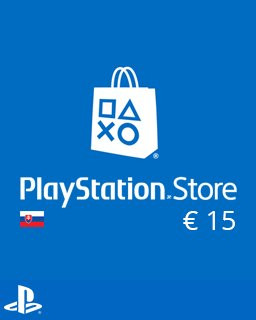 PlayStation Live Cards 15 Euro - Plná verze - 1 licence