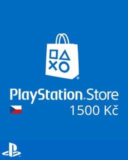 PlayStation Live Cards 1500Kč - Plná verze - 1 licence