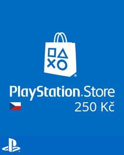 PlayStation Live Cards 250Kč - Plná verze - 1 licence