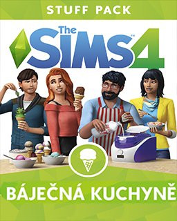 The Sims 4 Báječná kuchyně - Plná verze - 1 licence