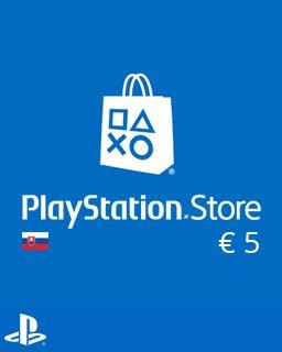 PlayStation Live Cards 5 Euro - Plná verze - 1 licence