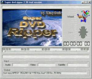 Super DVD Ripper - náhled