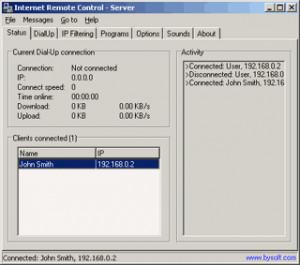 BySoft Internet Remote Control - náhled