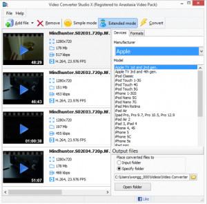 Video Converter Studio - náhled