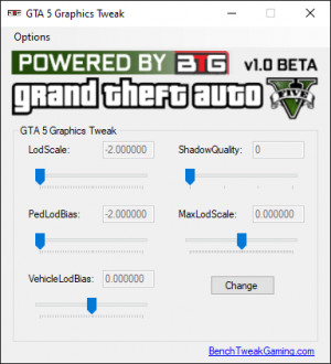 GTA 5 Graphics Tweak - náhled