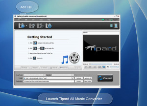 Tipard All Music Converter - náhled