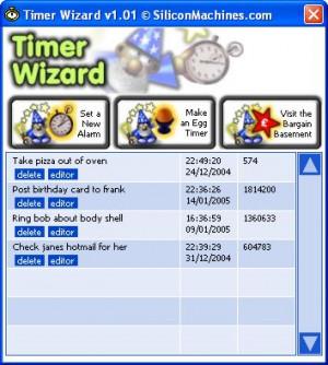 Timer Wizard - náhled