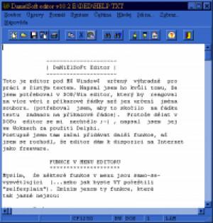 DanielSoft Editor - náhled