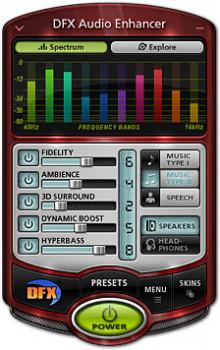DFX Audio Enhancer - náhled