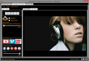 Tiger Byte Media Player - náhled