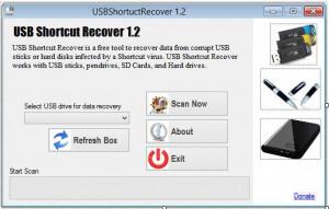 USBShortcutRecover - náhled