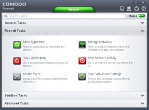 Comodo Firewall - náhled