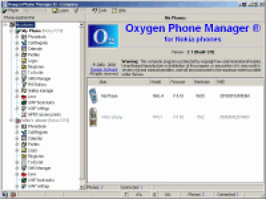 Oxygen Phone Manager II for Nokia Phones - náhled