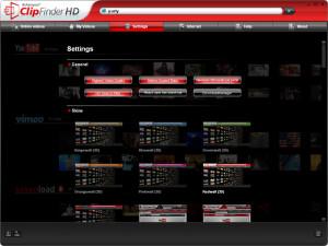 Ashampoo ClipFinder HD - náhled