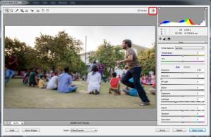 Adobe Camera Raw - náhled