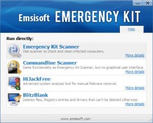 Emsisoft Emergency Kit - náhled