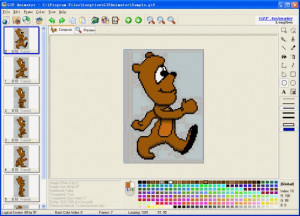 GIF Animator - náhled