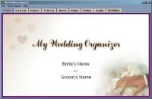 My Wedding Organizer - náhled