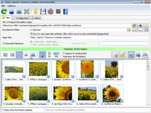 Bulk Image Downloader - náhled
