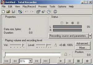 Total recorder - náhled