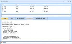 Disk Check - náhled