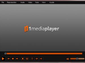 1MediaPlayer - náhled