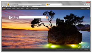 Internet Explorer 11 - náhled