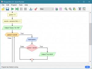 Flowgorithm - náhled