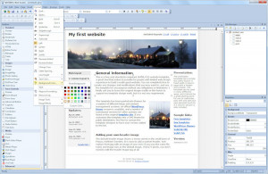 WYSIWYG Web Builder - náhled