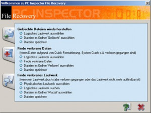 PC Inspector File Recovery - náhled