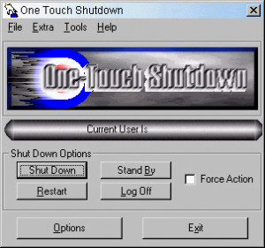 One-Touch Shutdown - náhled