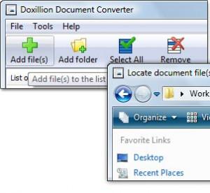 Doxillion Document Converter - náhled