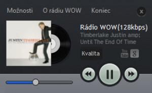 Rádio WOW Player - náhled