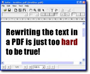 Infix PDF Editor - náhled
